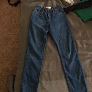 Pax sun high rise skinny jeans
